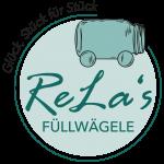 Dies ist das Logo von ReLa's Füllwägele